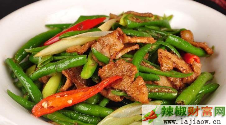 湖南风味的辣椒炒肉是怎么炒出来的?